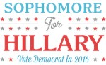 Sophomore for Hillary