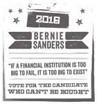 Candidate Can't Can't Be Bought