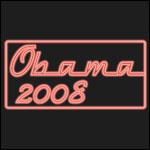 Neon Red Obama 2008