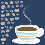 Vintage Coffee Art Illustration