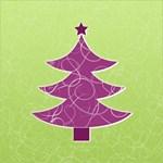 Purple and Green Christmas Tree