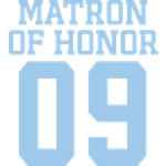Blue Matron of Honor 09 Gifts