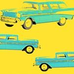 Blue Cars Pop Art Gifts