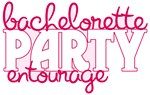 Bachelorette Party Entourage Tee Shirts