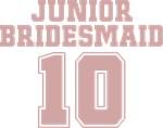 Uniform Junior Bridesmaid 10 T-Shirts