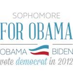 Sophomore For Obama