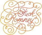 Cursive Fuck Romney