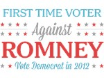 First Time Voter Against Romney