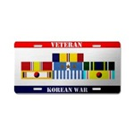 Korean War Veteran License Plates