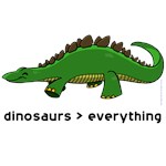 dinosaurs > everything
