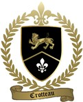 CROTTEAU Family Crest