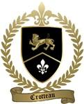 CROTTEAU Family Crest