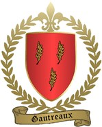 GAUTREAUX Family Crest