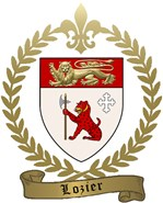 LOZIER Family Crest