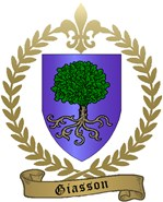 GIASSON Family Crest