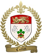 COLLET Family Crest