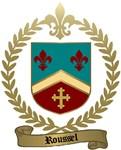 ROUSSEL Family Crest