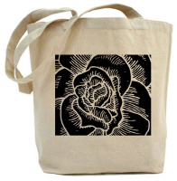 Woodcut Rose Gift Items