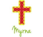 Myrna Bubble Cross