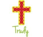 Trudy Bubble Cross