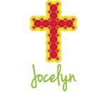 Jocelyn Bubble Cross