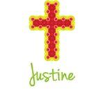 Justine Bubble Cross