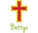 Bettye Bubble Cross