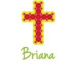 Briana Bubble Cross