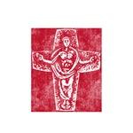 Pretty red christian cross 2 L q