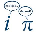 Be Rational Get Real Imaginary Math Pi