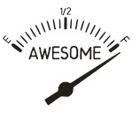 So Full of Awesome Gauge