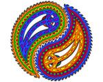 5. World Peace, Paisley, Yin Yang