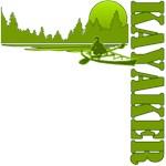 Kayaker (Green)