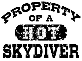 Property of a Hot Skydiver