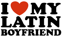 I Love My Latin Boyfriend t-shirt