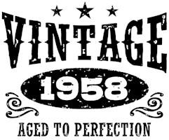 Vintage 1958 t-shirts