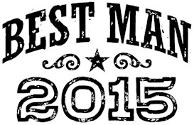 Best Man 2015 t-shirt