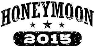 Honeymoon 2015 t-shirts