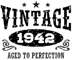 Vintage 1942 t-shirts