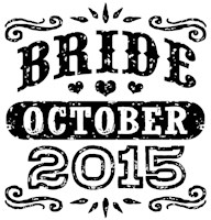 Bride October 2015 t-shirt