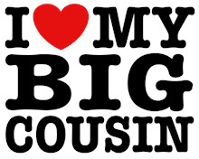 I Love My Big Cousin t-shirt