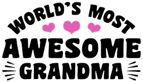 World's Most Awesome Grandma t-shirts