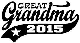 Great Grandma 2015 t-shirt
