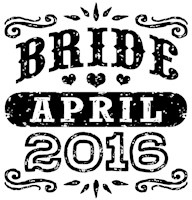 Bride April 2016 t-shirt