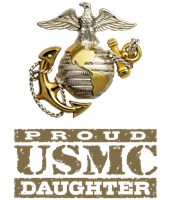Proud USMC Daughter t-shirts