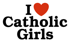 I Love Catholic Girls t-shirts