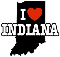I Love Indiana t-shirt