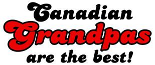Canadian Grandpas t-shirt