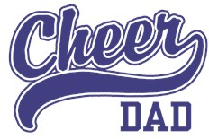 Cheer Dad t-shirts