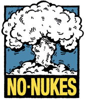Retro Style No Nukes T-Shirts and More